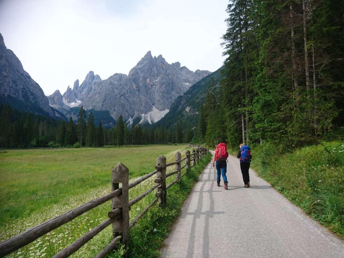 Dolomiten-Durchquerung (1)