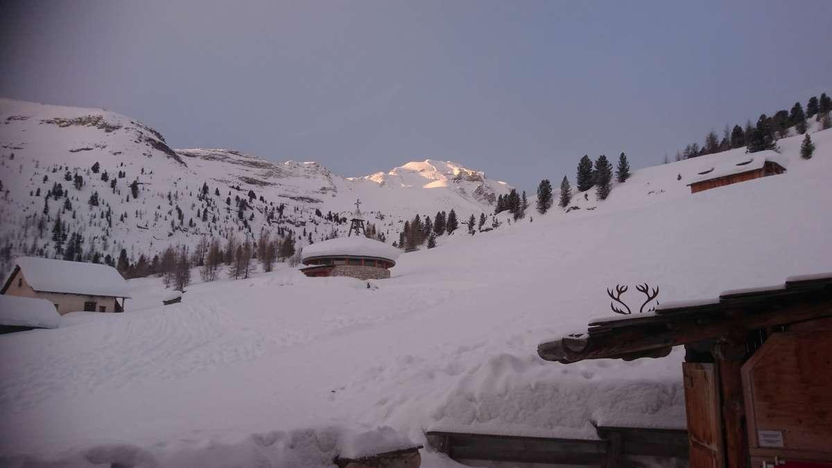 Schneeschuhtour Fanesalm (1)
