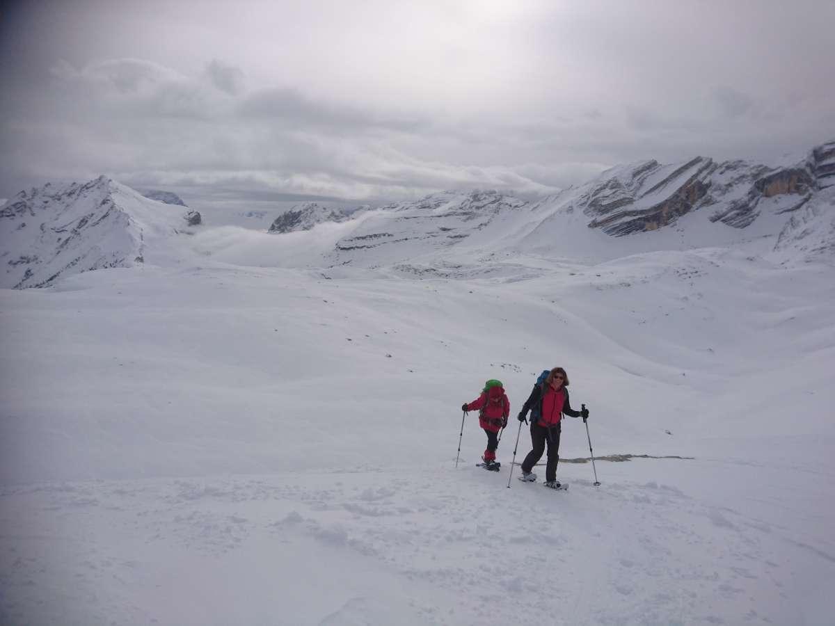 Schneeschuhtour Fanesalm (4)