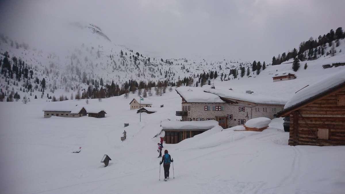 Schneeschuhtour Fanesalm (5)
