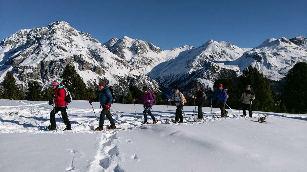 Schneeschuhtour Obervinschgau (2)